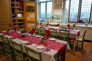 Keuken kerst tafels